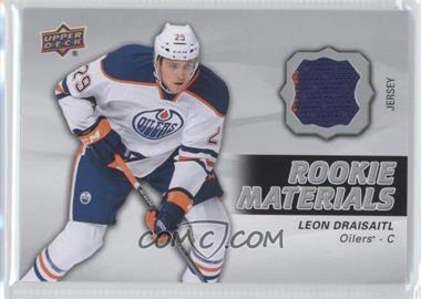 2014-15 Upper Deck - Rookie Materials #RM16 - Leon Draisaitl