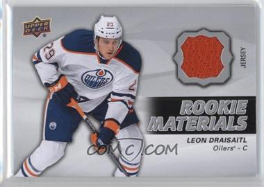 2014-15 Upper Deck - Rookie Materials #RM16 - Leon Draisaitl