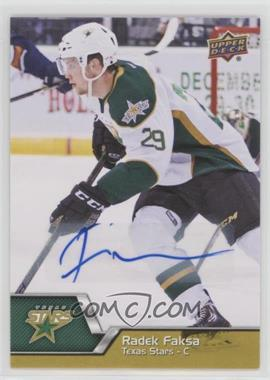 2014-15 Upper Deck AHL - [Base] - Autographs [Autographed] #30 - Radek Faksa