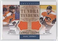 Jakub Voracek, Matt Read [EX to NM]