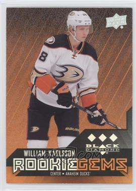 2014-15 Upper Deck Black Diamond - [Base] - Orange #187 - William Karlsson /85