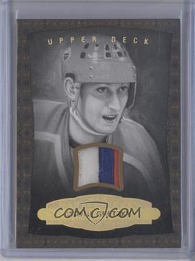 2014-15 Upper Deck Masterpieces - [Base] - Black Framed Memorabilia [Memorabilia] #165 - Wayne Gretzky /15