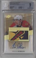 Acetate Rookie Auto-Patch - Rocco Grimaldi [BGS 9 MINT] #/10
