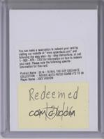 Rookie Patch Autograph - Joey Hishon /38 [REDEMPTION Being Redeemed]