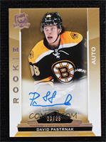 Rookie Autograph - David Pastrnak [Noted] #23/25