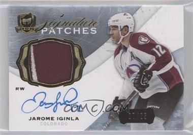 2014-15 Upper Deck The Cup - Signature Patches #SP-JI - Jarome Iginla /25
