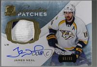 James Neal [Noted] #/99