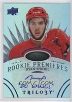 Level 3 Rookie Premieres Autograph Inscriptions - Ryan Sproul /15