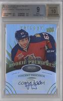 Level 2 Rookie Premieres Autographs - Vincent Trocheck /99 [BGS9MIN…
