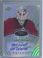 Level 3 Rookie Premieres Autograph Inscriptions - Mark Visentin /5