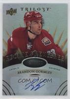 Level 2 Rookie Premieres Autographs - Brandon Gormley #/399
