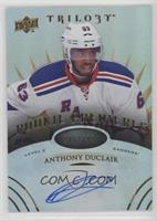 Level 2 Rookie Premieres Autographs - Anthony Duclair #/399