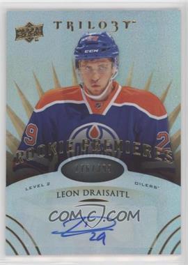 2014-15 Upper Deck Trilogy - [Base] #164 - Level 2 Rookie Premieres Autographs - Leon Draisaitl /399