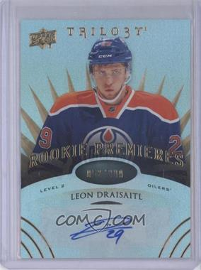 2014-15 Upper Deck Trilogy - [Base] #164 - Level 2 Rookie Premieres Autographs - Leon Draisaitl /399