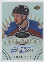 Level 3 Rookie Premieres Autograph Inscriptions - Joey Hishon #/49