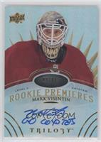 Level 3 Rookie Premieres Autograph Inscriptions - Mark Visentin #/49