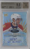 Level 3 Rookie Premieres Autograph Inscriptions - Vincent Trocheck /49 [BGS&nbs…