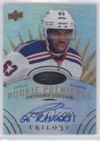 Level 3 Rookie Premieres Autograph Inscriptions - Anthony Duclair #/49