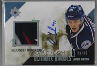 Autographed Rookie Patch - Alexander Wennberg [Noted] #/25