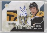 Autographed Rookie Patch - Joe Morrow /25