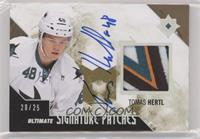 2018-19 Upper Deck Ultimate Collection Update - Tomas Hertl #/25