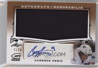 Cameron Hebig /25