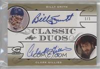 Billy Smith , Clark Gillies #/1