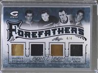 Maurice Richard, Bill Mosienko, Ted Kennedy, Elmer Lach /4