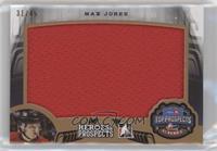 Max Jones #/45