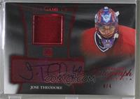 Jose Theodore [Noted] #/4