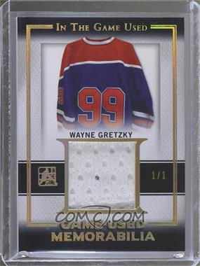 2015-16 Leaf In the Game Used - Game-Used Memorabilia - Gold Spectrum #GU-32 - Wayne Gretzky /1