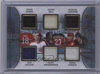 Denis Savard, Glenn Hall, Nicklas Lidstrom, Guy Lafleur, Scott Niedermayer, Mar…