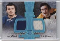 Rod Gilbert, Phil Esposito #/8