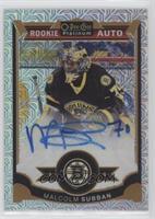 Rookie Autographs - Malcolm Subban #/125
