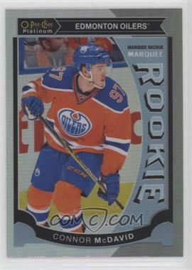 2015-16 O-Pee-Chee Platinum - Marquee Rookies - Rainbow #M1 - Connor McDavid