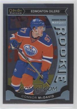 2015-16 O-Pee-Chee Platinum - Marquee Rookies #M1 - Connor McDavid