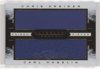Chris Kreider, Carl Hagelin #/115