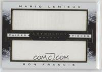 Mario Lemieux, Ron Francis #/75