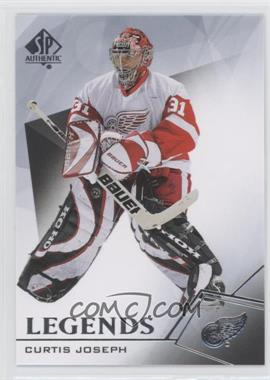 2015-16 SP Authentic - [Base] #116 - Legends - Curtis Joseph
