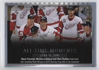 All Time Moments Multi-Player - Nicklas Lidstrom, Steve Yzerman, Chris Chelios
