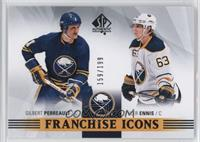 Franchise Icons - Gilbert Perreault, Tyler Ennis #/199