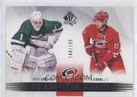 Franchise Icons - Mike Liut, Eric Staal #/199