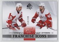 Franchise Icons - Steve Yzerman, Henrik Zetterberg #154/199