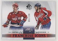Franchise Icons - Mike Gartner, Alexander Ovechkin #/199