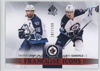 Franchise Icons - Andrew Ladd, Mark Scheifele #/199