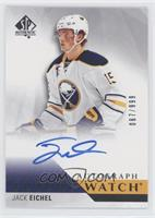 2018-19 SP Authentic Update - Jack Eichel (Autographed) #/999