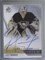 Future Watch Autographs - Matt Murray #/999