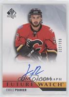 Future Watch Autographs - Emile Poirier #/999
