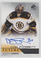 Future Watch Autographs - Malcolm Subban #/949