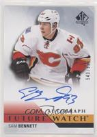Future Watch Autographs - Sam Bennett #/999